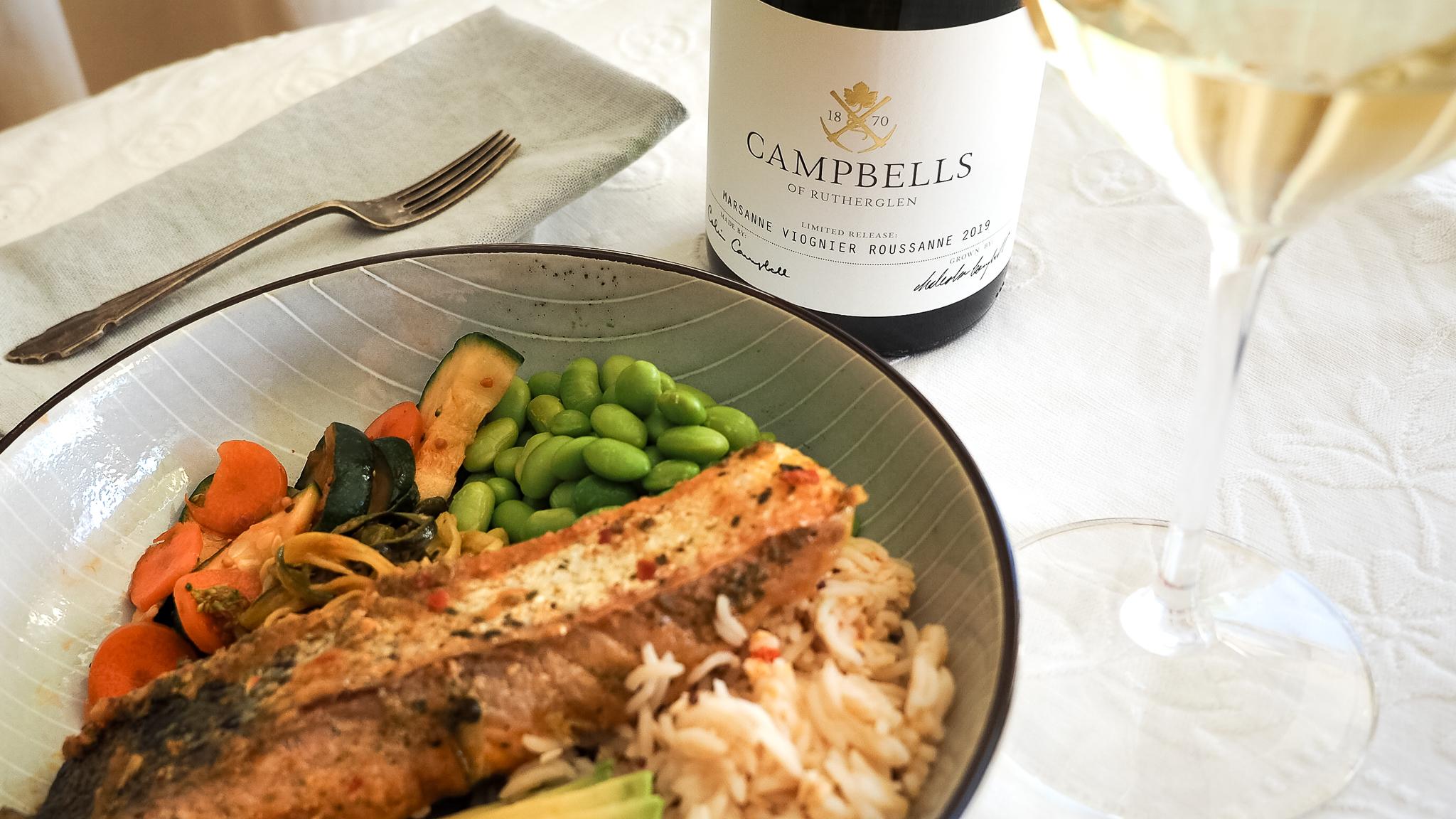 campbells wines recipe | marsanne viognier roussanne
