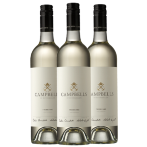 campbells wines trebbiano rutherlgen winery