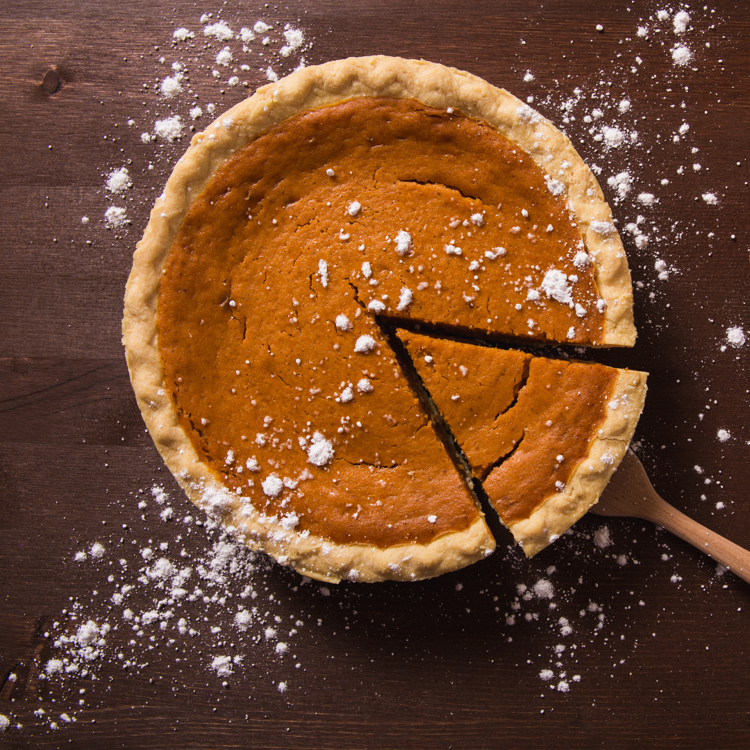Spiced Pumpkin Pie with Muscat